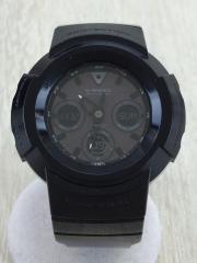 G-SHOCK/ソーラー腕時計/デジタル/BLK/awg-m510bb/グロッシー・ブラックシリーズ