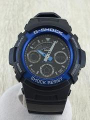 G-SHOCK/クォーツ腕時計/デジアナ/AW-591
