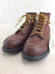 90s/ブーツ/US8.5/ブラウン/レザー/USA製/