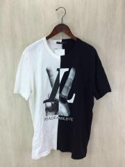 18SS/ハンドLV/ロゴTシャツ/L/コットン