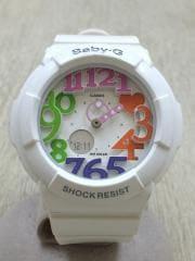 クォーツ腕時計・Baby-G/アナログ/WHT