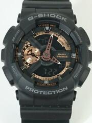 クォーツ腕時計・G-SHOCK/デジアナ/ブラック/ジーショック