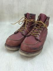 ブーツ/US8.5/BRW/レザー/8131/モックトゥ