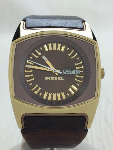 diesel クォーツ腕時計 アナログ レザー brw brw dz5167 dz 5167