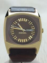クォーツ腕時計/アナログ/レザー/BRW/BRW/DZ5167/DZ-5167