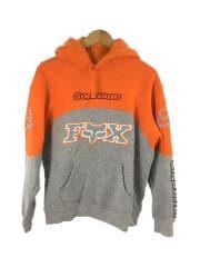 20AW/Fox Racing Hooded Sweatshirt/パーカー/S/コットン/ORN