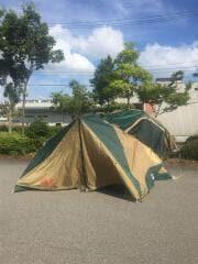 フロントワイドドーム/300 テント/ドーム/2~3人用/GRN