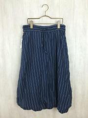スカート/2/コットン/NVY