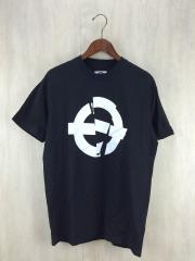 ROUNDEL/Tシャツ/M/コットン/BLK