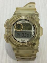 クォーツ腕時計/デジタル/ラバー/SLV/CLR