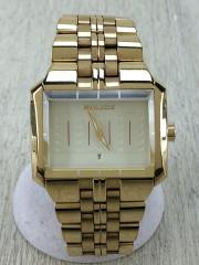 クォーツ腕時計/10812J/アナログ/GLD