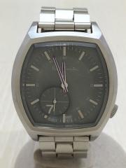 クォーツ腕時計/アナログ/ステンレス/KHK/SLV/1045-T001467/ナンバー7