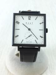 腕時計/Monotone Collection/アナログ/SQ-32BKWH