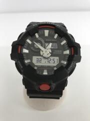 クォーツ腕時計/G-SHOCK/ジーショック/デジアナ/ラバー/ブラック/GA-700-1AJF