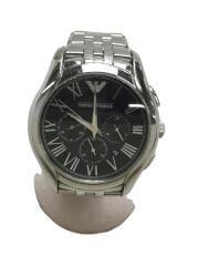 クォーツ腕時計_ステンレス/アナログ/BLK
