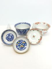 和食器/皿/深皿/鉢/小皿/5点セット/マルチカラー