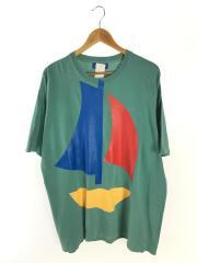 Tシャツ/XL/コットン/グリーン/緑/WDS-CS-226