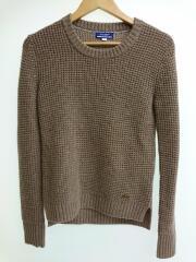 セーター(厚手)/38/ウール/ブラウン/E1N17-612-40