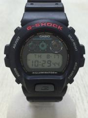 クォーツ腕時計/デジタル/BLK/BLK/中古/セカスト