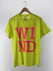 Tシャツ/M/コットン/YLW