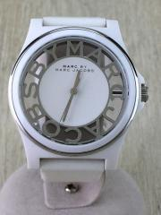 腕時計/アナログ/WHT