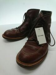 INDY BOOTS/レースアップブーツ/US7/MADE IN USA/ブラウン/レザー