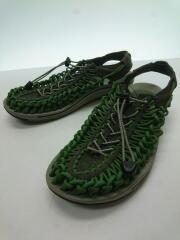 UNEEK/サンダル/29cm/グリーン/ユニーク/アウトドア/ANATOMICAL FOOTBED