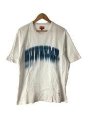 Tシャツ/L/コットン/WHT/無地