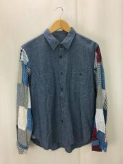 リメイクシャツ/M/コットン/IDG