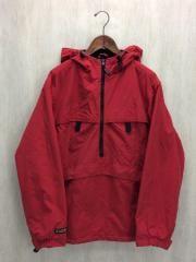 マウンテンパーカ/L/コットン/RED