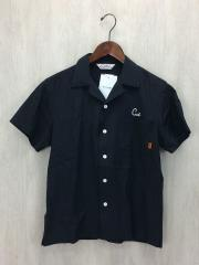 オープンカラーシャツ/開襟シャツ/刺繍/レーヨン