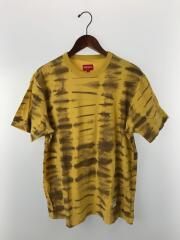 13SS/Tie Dye Tee/タイダイ/Tシャツ/XL/コットン/YLW