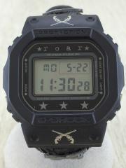 伊勢丹限定/G-SHOCK/クォーツ腕時計/デジタル/--/BLK/BL/KDW-5600VT