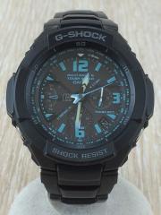 G-SHOCK/クォーツ腕時計/デジタル/ステンレス/BLK/BLK/GW-3000BD/ケース付