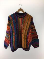 セーター(厚手)/S/ウール/マルチカラー