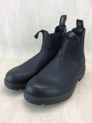 サイドゴアブーツ/UK8/BLK/レザー
