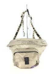 ウエストバッグ/ナイロン/BEG/NN7918N/Lightweight Logo tape Waist Bag