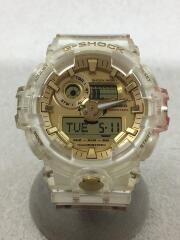クォーツ腕時計・G-SHOCK/デジアナ/--/CLR/CLR