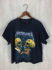 Tシャツ/L/コットン/BLK/METALLICA/メタリカ/パスヘッド/バンドTシャツ