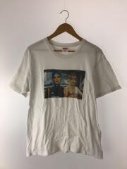 シュプリーム/Tシャツ/M/コットン/WHT/プリント/使用感有