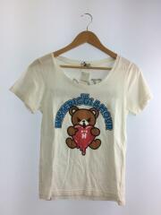 ヒステリックグラマー/0152CT01/ロゴTシャツ/ベア/FREE/コットン/ホワイト