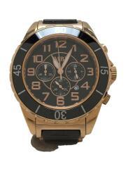 MBI/66Q04G/クォーツ腕時計/アナログ/ステンレス/BLK/GLD