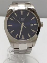 ティソ/T1274101104100/21年購入/クォーツ腕時計/アナログ/ステンレス/シルバー