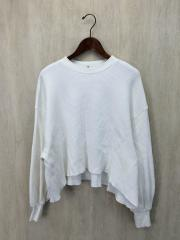 THERMAL VOLUME SLEEVE TOPS/長袖カットソー/1/コットン/WHT