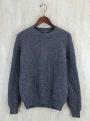 セーター(厚手)/48/ウール/GRY