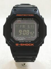 GW-M5610/ソーラー腕時計/デジタル/ラバー/BLK/BLK