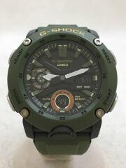 クォーツ腕時計・G-SHOCK/デジアナ/GRN/