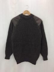 セーター(厚手)/M/ウール/BRW