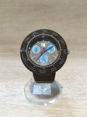 クォーツ腕時計/アナログ/BRW×BLU
