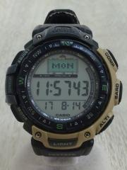 プロトレック/クォーツ腕時計/デジタル/PRG-40/ベルト部分劣化有